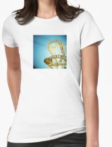Yellow Fun Womens Fitted T-Shirt