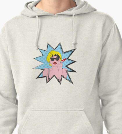 Lady Gaga Pop Art Pow! Pullover Hoodie