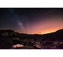 Bridge Under The Milky Way Photographic Print