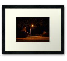 Film Set Light #12 Framed Print