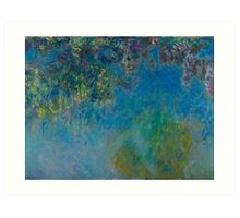 Wisteria by Claude Monet Art Print