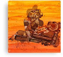 Rusty Robots III Canvas Print