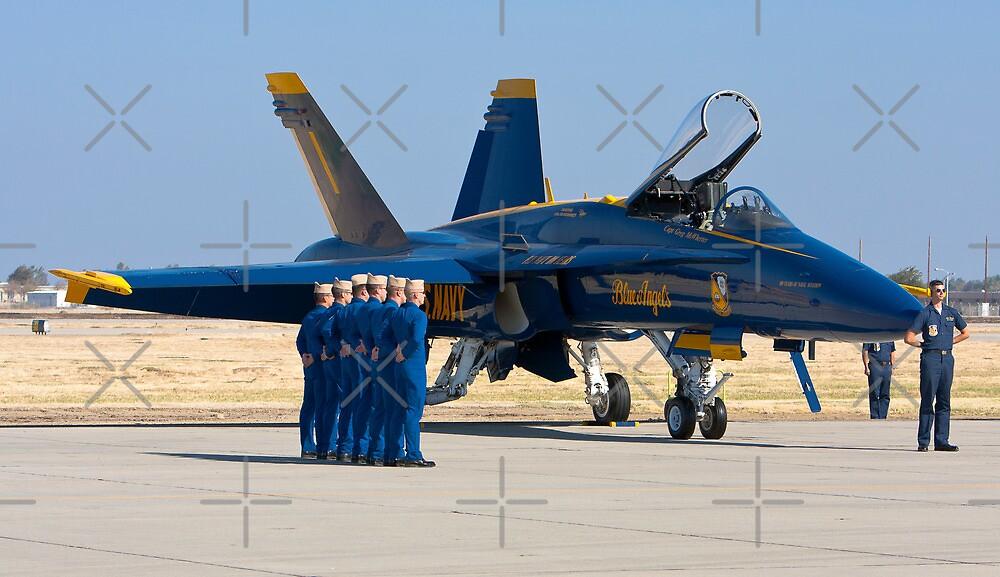 Blue Angels - Pre Take Off Ceremonies by Buckwhite