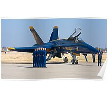 Blue Angels - Pre Take Off Ceremonies Poster