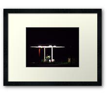Film Set Light #11 Framed Print