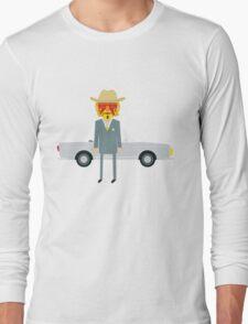 'The Royal Tenenbaums' tribute Long Sleeve T-Shirt