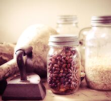 Grandma's pantry by woodnimages