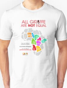All Giraffe Are Not Equal T-Shirt