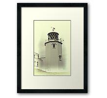 Lighthouse on the Lizard Framed Print