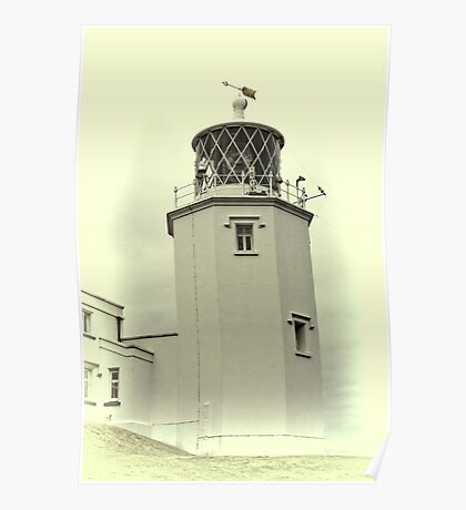 Lighthouse on the Lizard Poster