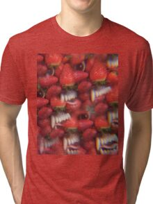 Thee Oh Sees Floating Coffin Graphic T-Shirt Tri-blend T-Shirt