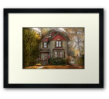 Victorian - Cranford, NJ - Only the best things   Framed Print