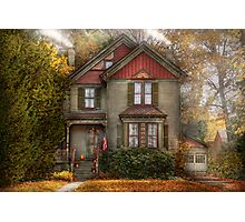 Victorian - Cranford, NJ - Only the best things   Photographic Print