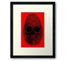 Identity Theft Framed Print