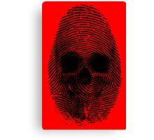 Identity Theft Canvas Print