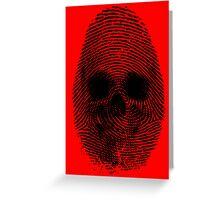 Identity Theft Greeting Card