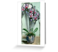 The Weeping Orchids Greeting Card