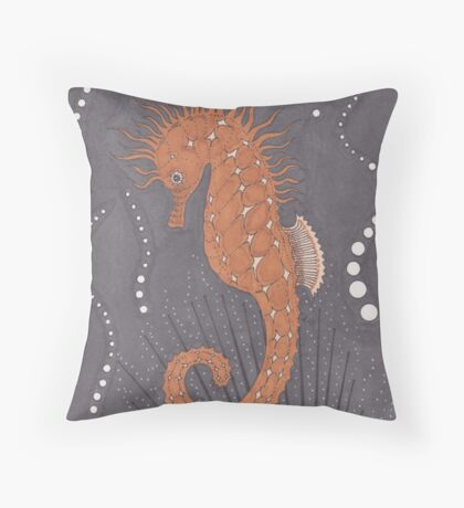 Filled To the Brim Throw Pillow