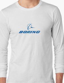 Boring Shirt Long Sleeve T-Shirt