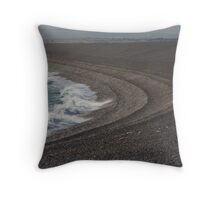 Pebble Waves Throw Pillow