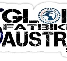 Global Fatbike Day Australia 2015 Sticker