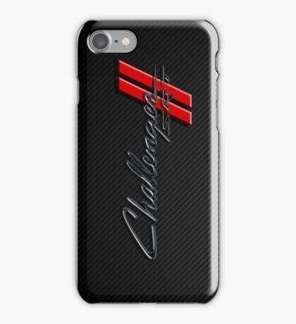 Carbon Fiber Challenger  iPhone Case/Skin