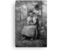 Barber - WWII - GI Haircut Canvas Print
