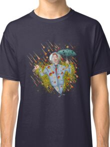 Meteor Shower Weather Man Classic T-Shirt