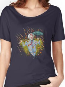 Meteor Shower Weather Man Women's Relaxed Fit T-Shirt