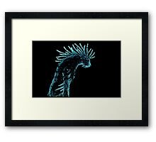 Deer god 2 Framed Print