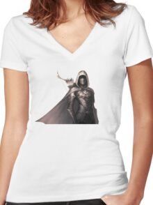 nightingale armor  Women's Fitted V-Neck T-Shirt