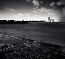 Moonlit Seas by photogenpix