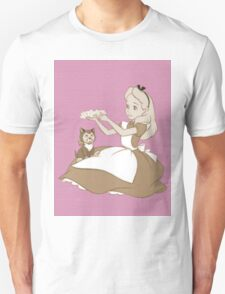 Vintage Alice and Dinah - Alice in Wonderland T-Shirt