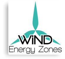 Wind Energy Zones Canvas Print