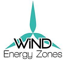 Wind Energy Zones Photographic Print