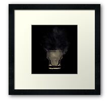 Liquid Smoke Framed Print