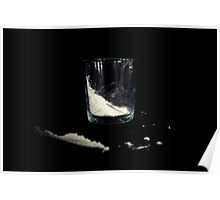 """""""Cocaine"""" in a Glass Poster"""