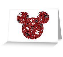 Mickey of the Caribbean Greeting Card