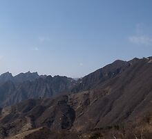 The Great Wall Panorama by Matthew Walters