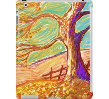 The 3 Pumpkins of Fall  iPad Case/Skin