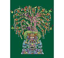 Aztec World Tree Photographic Print
