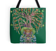 Aztec World Tree Tote Bag