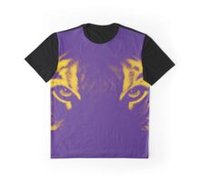 The Yellow Furred Tiger Graphic T-Shirt