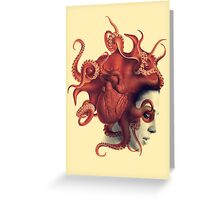 Octoheart Greeting Card