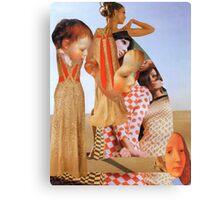 Portrait in Fashion 2. Canvas Print