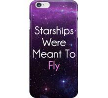 Starships were meant to fly Nicki Minaj iPhone Case/Skin
