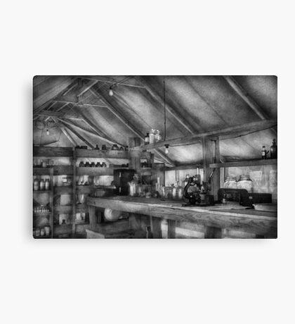 Pharmacy - WWII - Camp Sibert - Station hospital lab Canvas Print