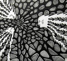 237 - COSMIC RENDEZVOUS - DAVE EDWARDS - INK - 2012 by BLYTHART