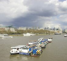 On the thames by James Taylor