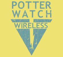 Potterwatch Wireless (Distressed Version) Kids Tee
